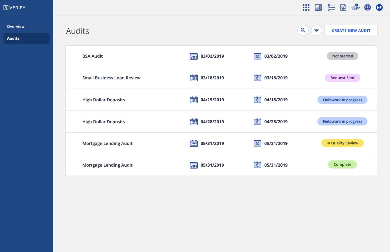 Nverify Audits Overview
