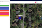 projectquoting.com screenshot: Search and measure properties by area or perimeter