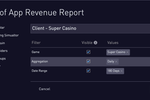 Captura de pantalla de Periscope: Create scheduled email reports and share results