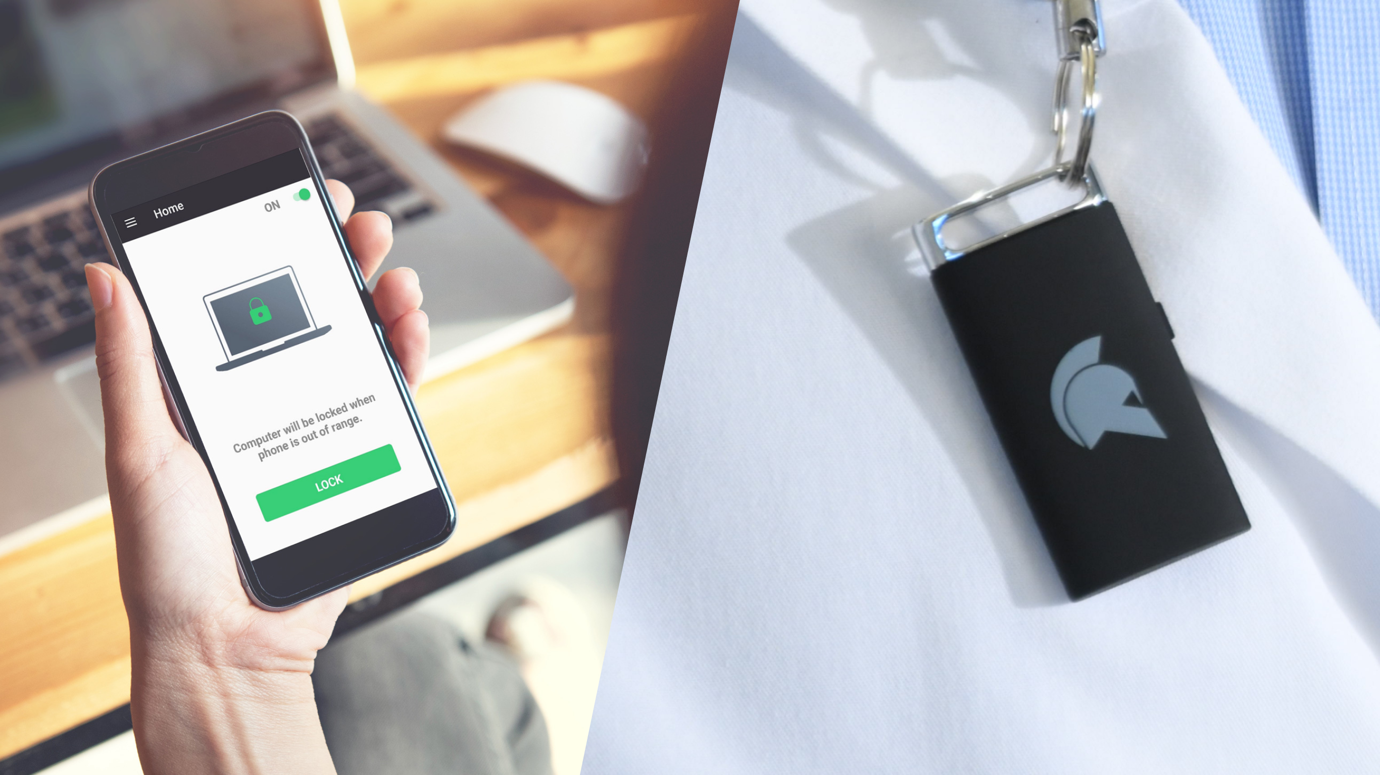 Faster and more secure 2FA account login and computer login. Use your phone as your wireless password token. You can also use a secure hardware token to login to accounts. Passwordless login reduces password stress and authentication errors.