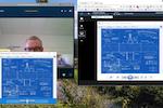 Capture d'écran pour PeekTime : Make business video calls with Skype for Business