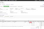 Captura de pantalla de Finale Inventory: Sales order example