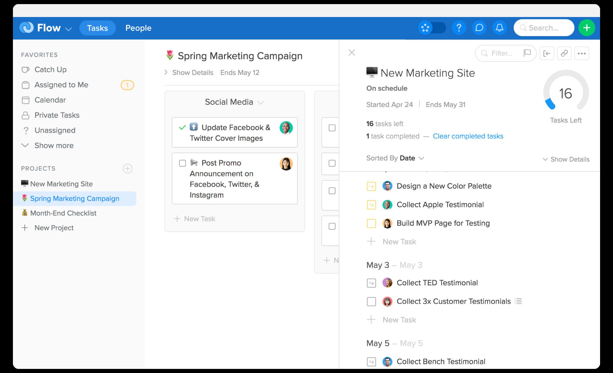 Flow Software - Task tracking
