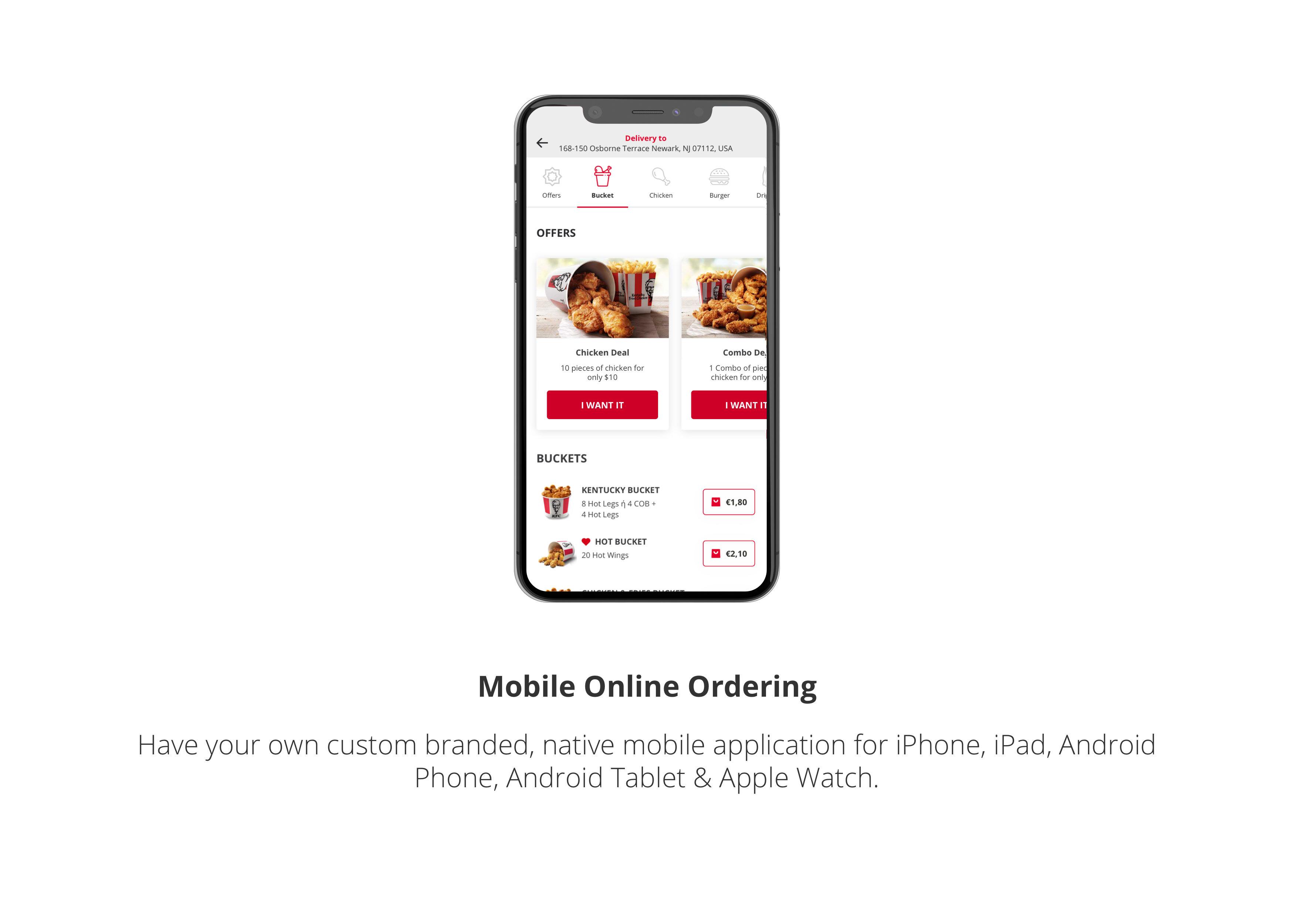 Mobile Online Ordering