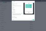 Capture d'écran pour Ungapped : Sms