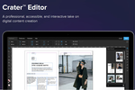 Joomag screenshot: Crater™ Editor