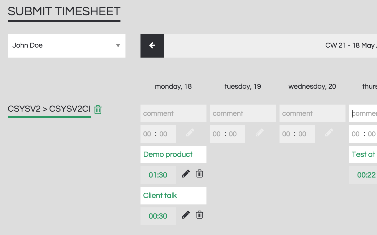 Intuitive and flexible timesheet formats geared to save your employees time