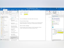 SalesOutlook CRM Software - SalesOutlook's Outlook CRM is your CRM in your Inbox. See all related items for all users when clicking on an email.  Easily create contacts, notes, appointment or tasks from an email.