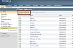 Vertafore AMS360 screenshot: AMS360 creating new target lists