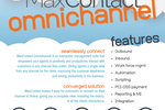 MaxContact screenshot: Omnichannel