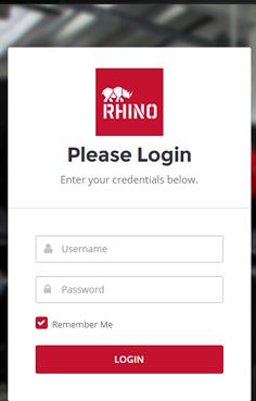 RhinoFit mobile login