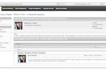 1CRM screenshot: 1CRM Forum