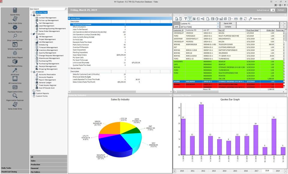 M1 ERP Software - 1