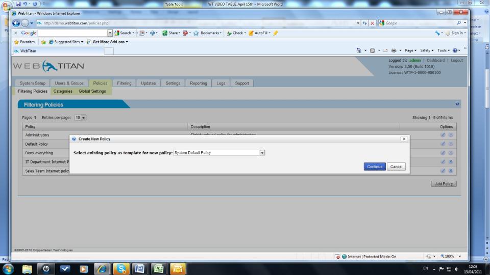 SpamTitan Software - 2