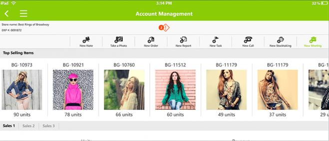 Pepperi Software - Account management
