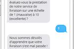 Primotexto screenshot: Primotexto phone scenario