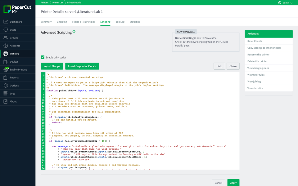 PaperCut Software - 5