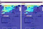 ClickTale screenshot: Heatmaps AB Testing