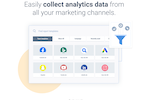 Capture d'écran pour Whatagraph : Easily collect analytics data from all marketing channels with Whatagraph