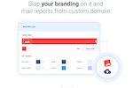 Capture d'écran pour Whatagraph : Create custom branded reports and mail them from a custom domain with Whatagraph