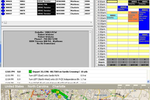 Captura de tela do ServMan: View data and information through ServMan's dispatch board