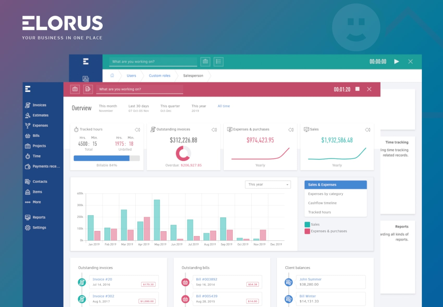 Elorus screenshot