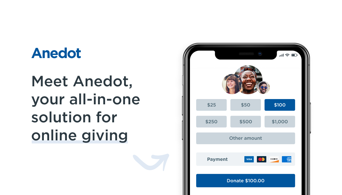 Anedot, your all-in-one solution for online giving