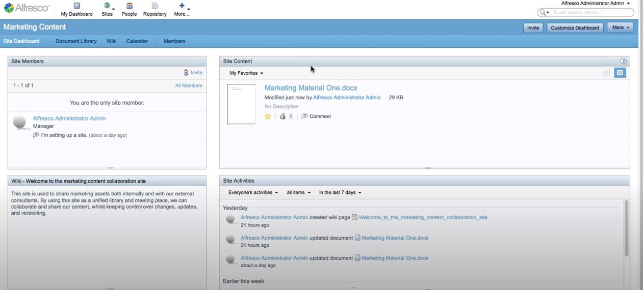 Alfresco Content Services Software - 3