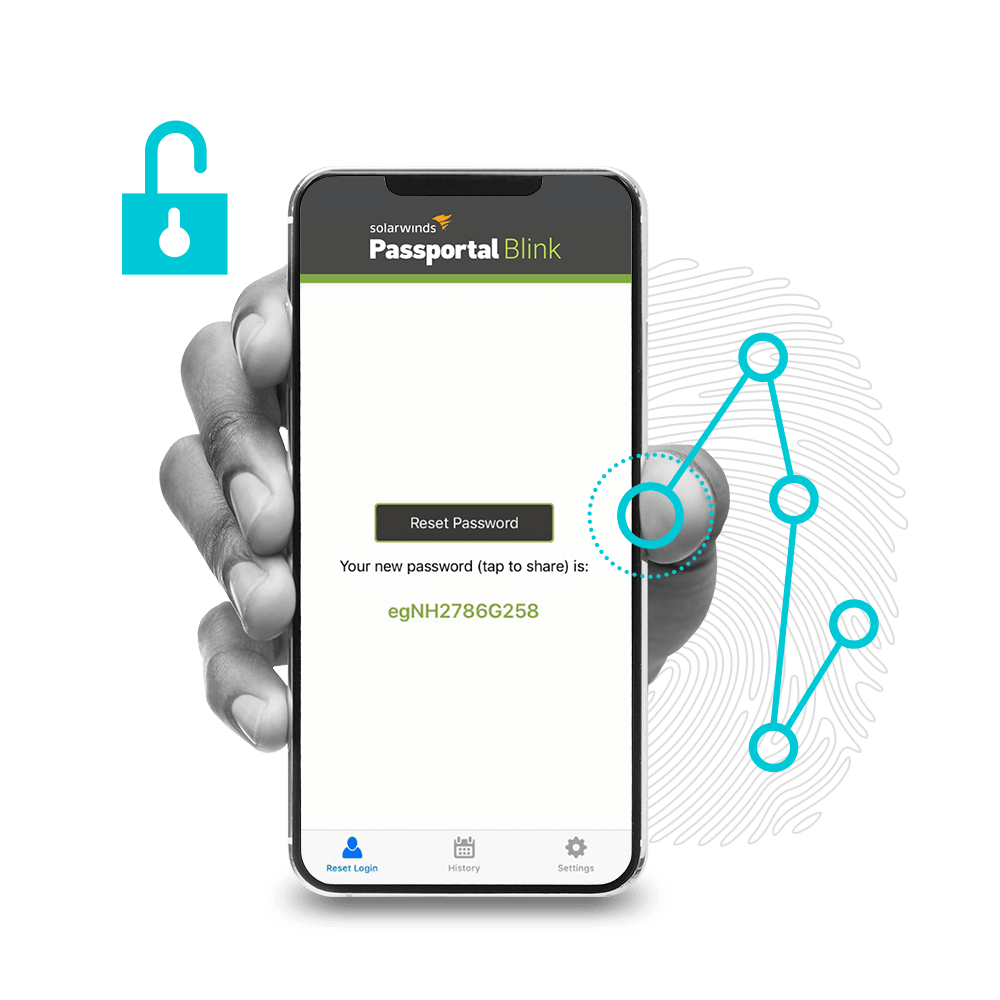 N-able Passportal Blink Self-Service Password Reset application   add-on feature.