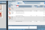 Indigo8 screenshot: Sales orders can be managed and tracked, and invoices generated automatically