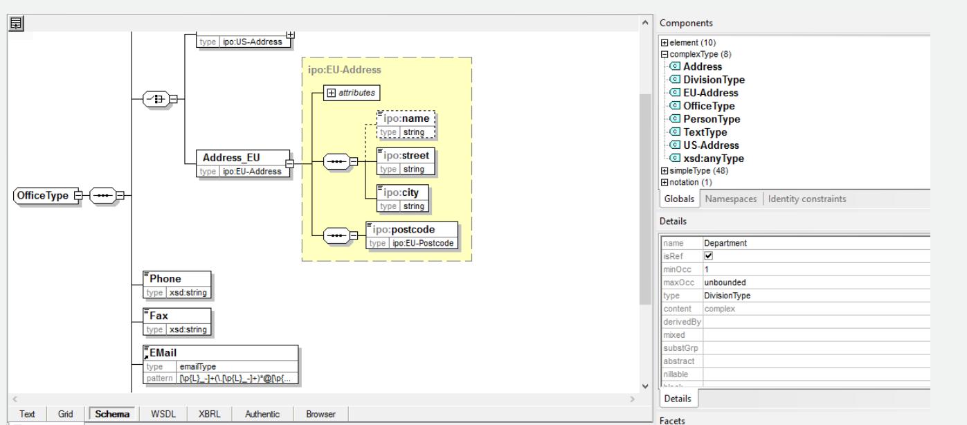 XMLSpy XML editor