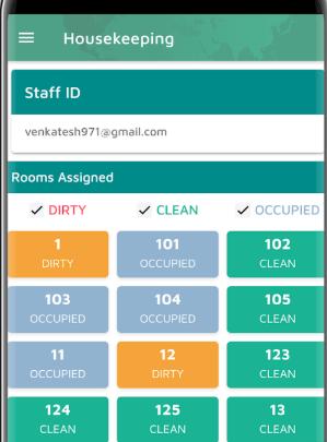 Stayflexi housekeeping