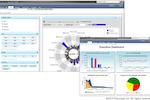 Planview Enterprise screenshot: Analytics reporting dashboard in Planview