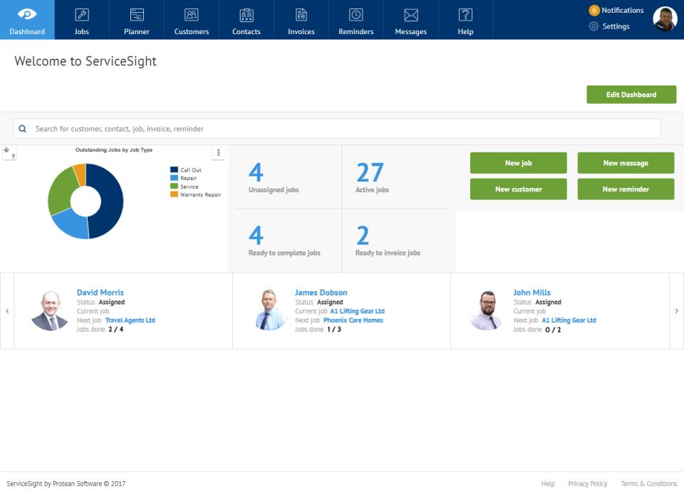 ServiceSight Software - 3