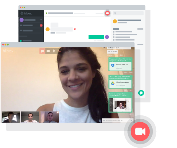 Hibox Software - Conduct live face-to-face video conferencing calls with no additional installations or integrations required