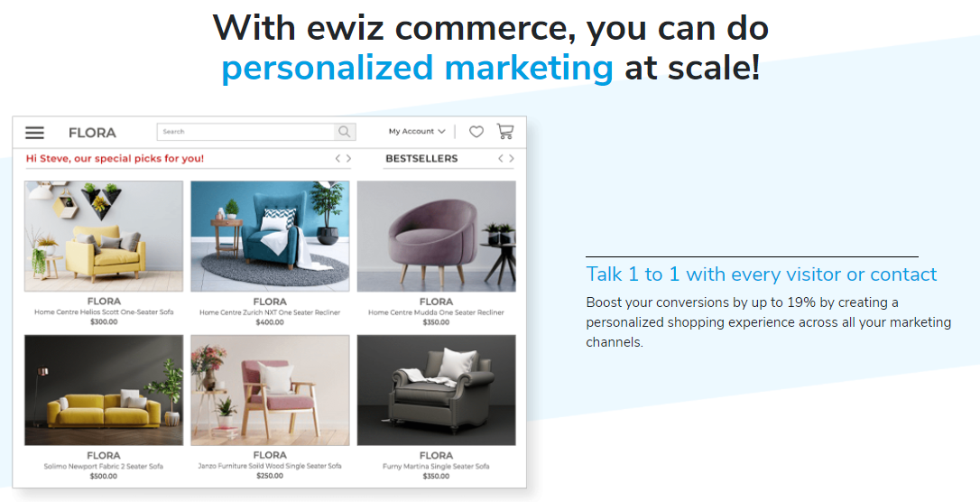 Do personalized marketing at scale