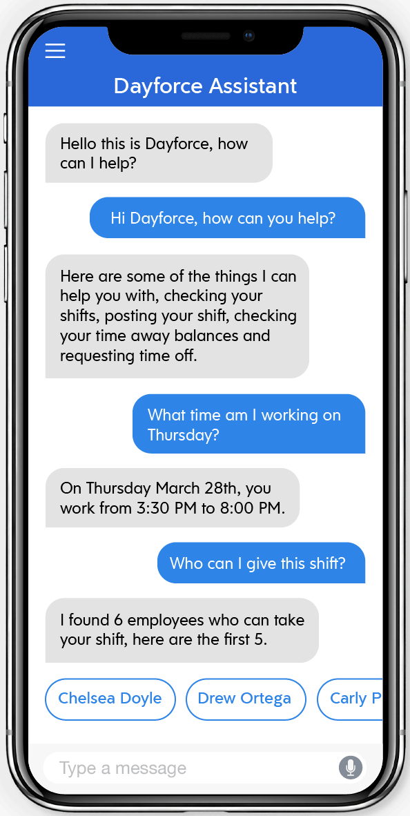 Dayforce Assistant