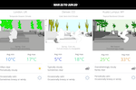 SketchUp screenshot: Connect the dots between climate and concept design at the start of your project. PreDesign gives you design recommendations based upon weather and building type, so you can steer your project forward with confidence.