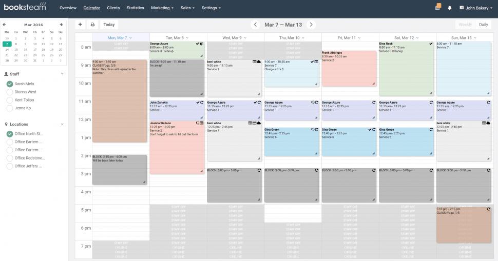 BookSteam Calendar