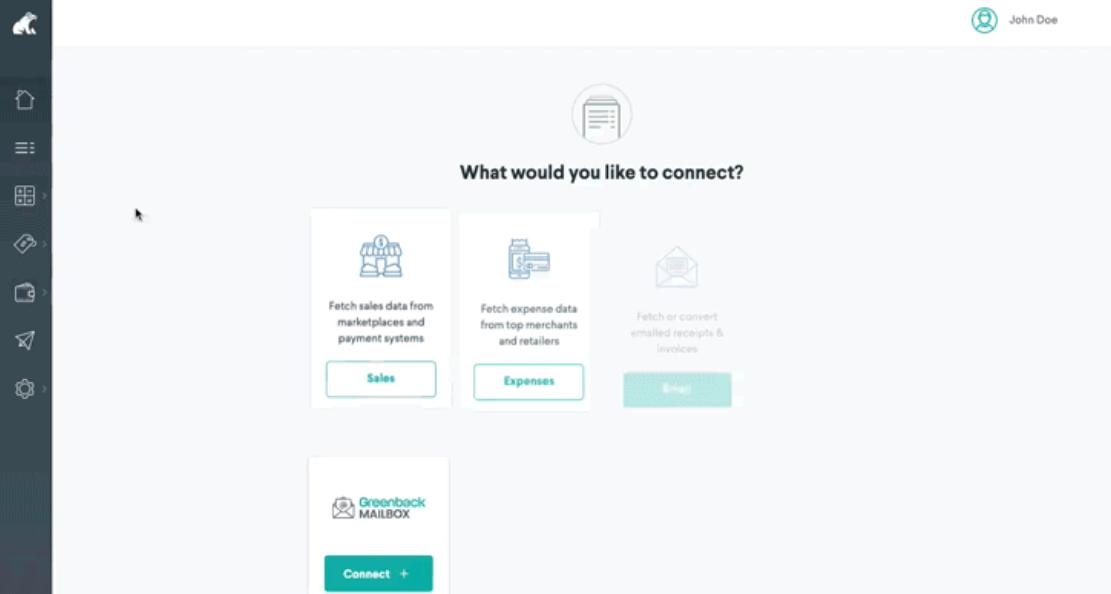 Greenback create new mailbox