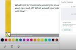 Pear Deck screenshot: Pear Deck teacher feedback