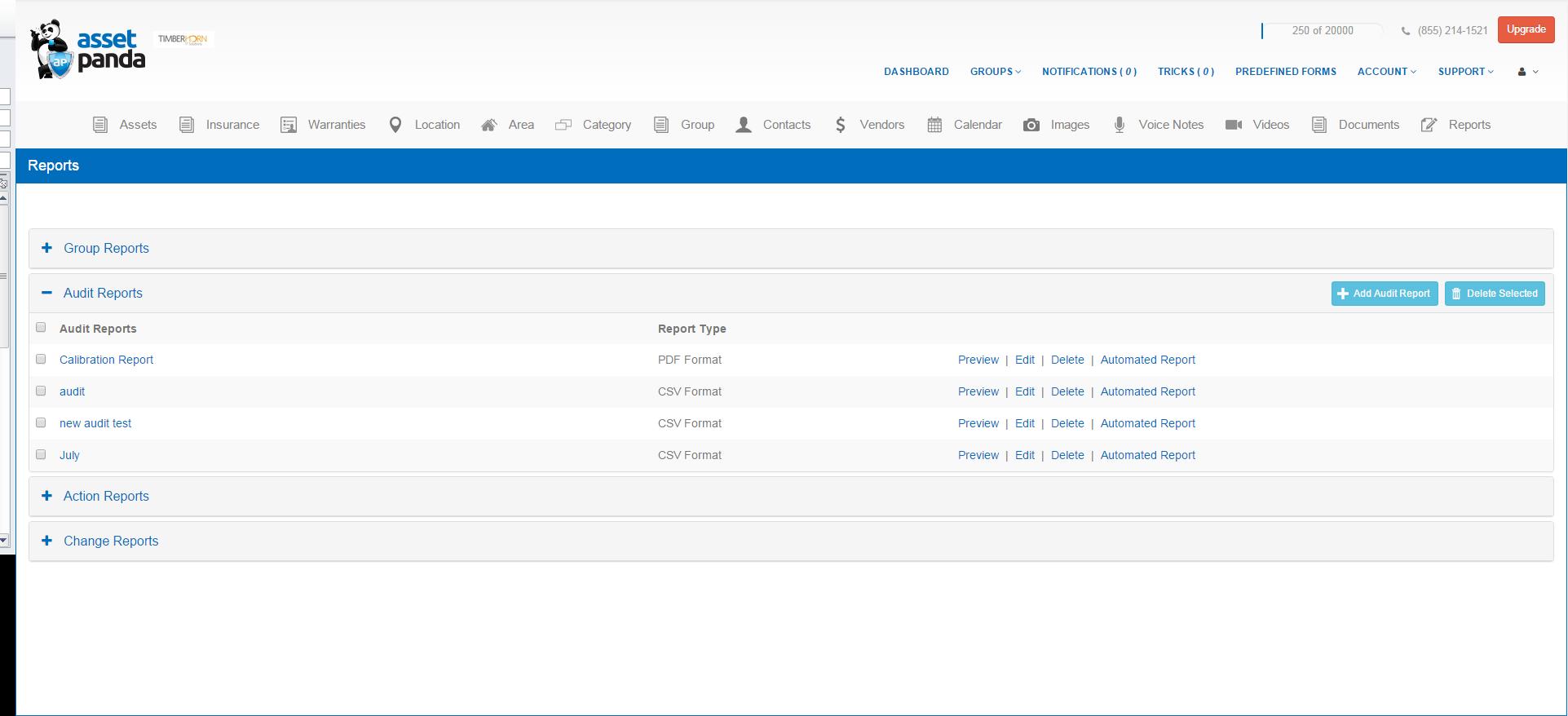 Asset Panda Software - Asset Panda custom reports