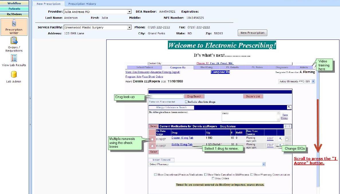 PatientNOW Software - 6