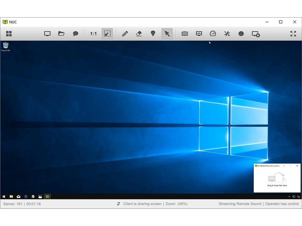 ISL Online access remote desktop