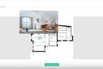 LiveTour screenshot: Allow users to navigate through spaces as if they were there