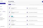 Userbot screenshot: Userbot AI training