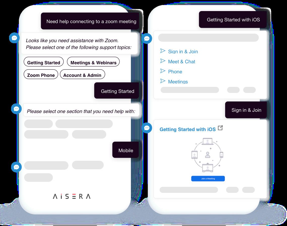 Conversational AI virtual assistant