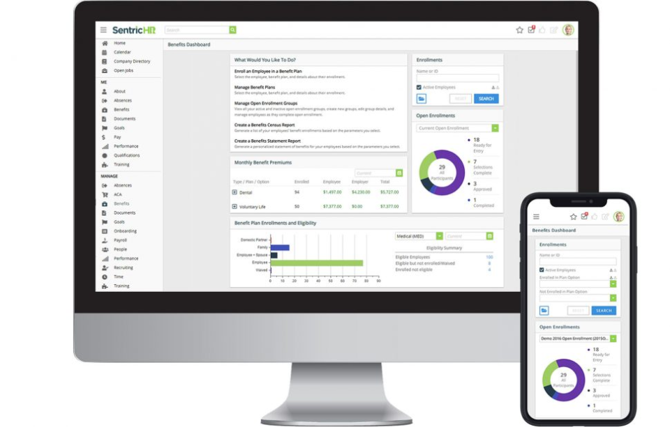 Sentric HR - Web and Mobile