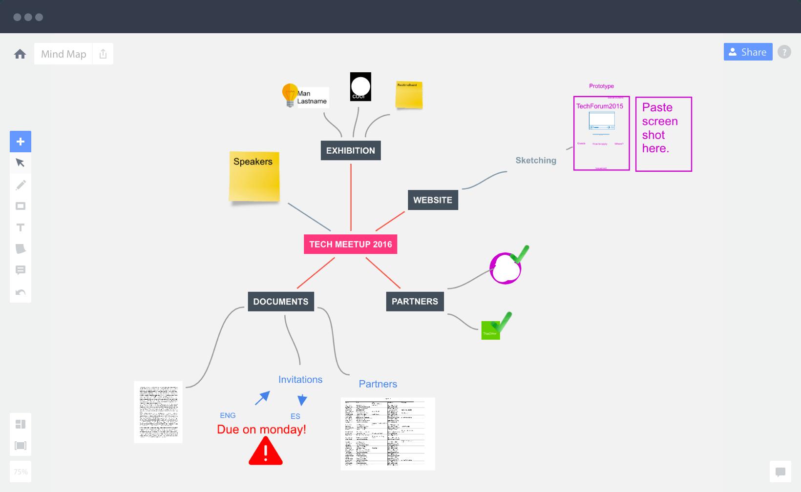 Miro Software - Mind map