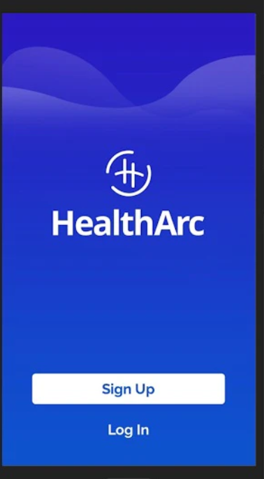 HealthArc Software - HealthArc login page